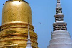 Flying through Pagodas