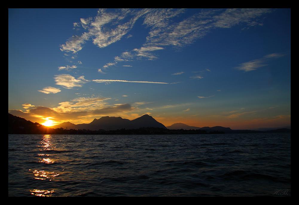 Föhnmorgen am Lago Maggiore