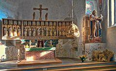 Föhr  - Kirche St. Johannis Nieblum -
