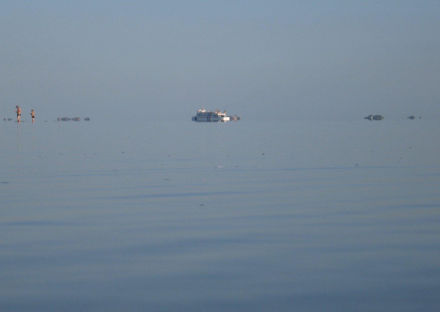Föhr - Windstille, am Strand von Nieblum