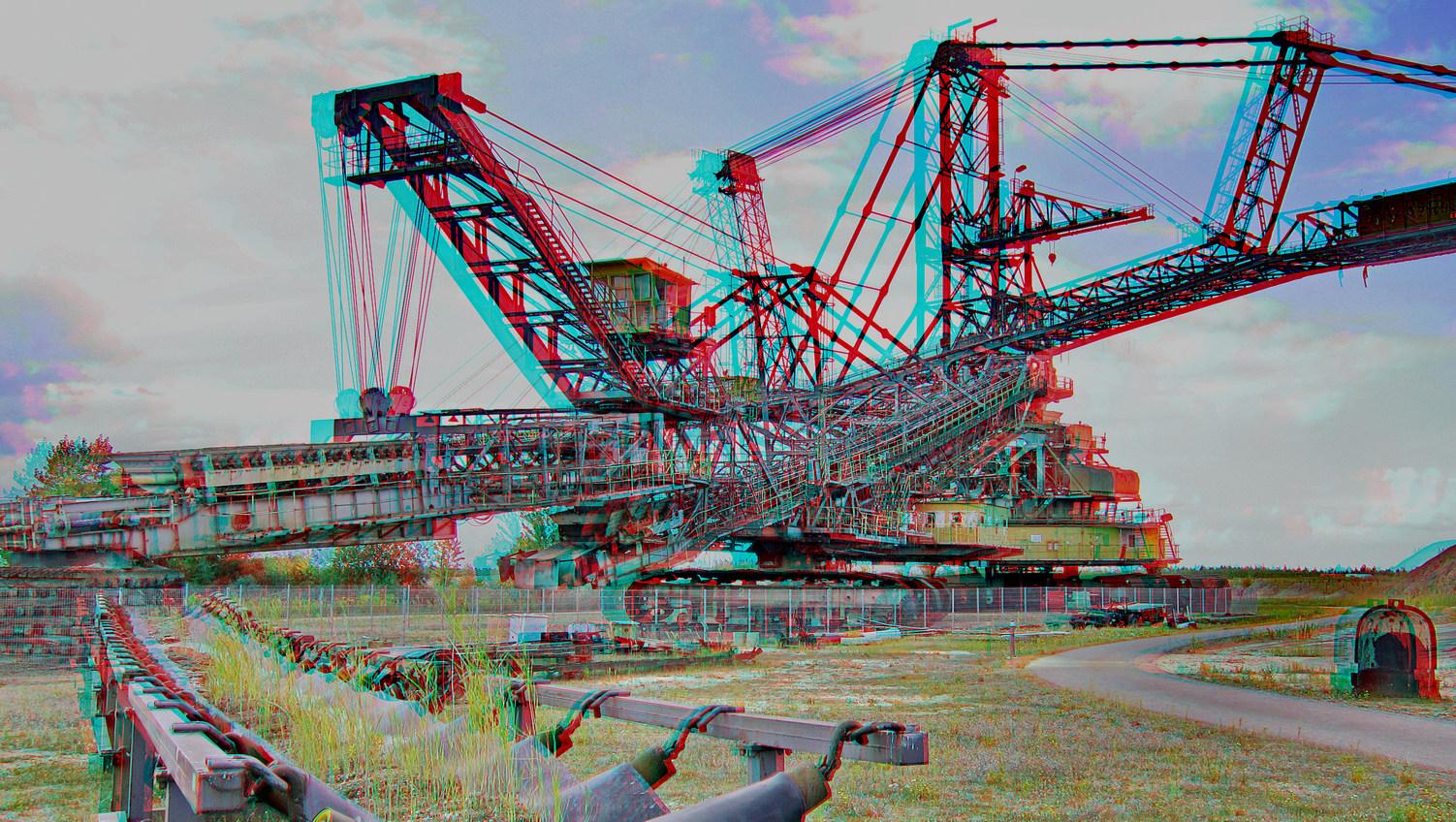 Förderband (3D-Foto)