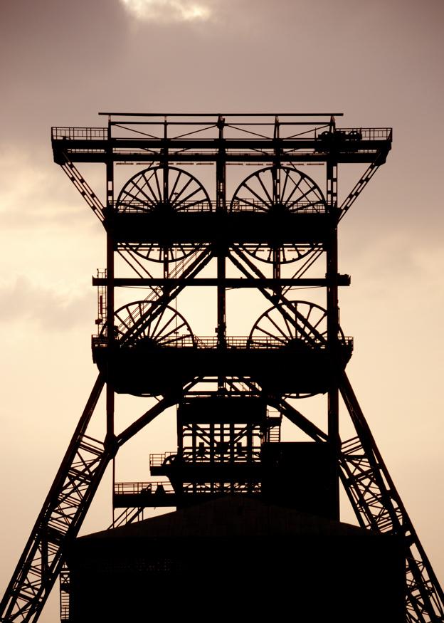 Förderturm der Zeche Consolidation in Gelsenkirchen