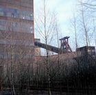 Förderturm der Zeche Zollverein in Essen