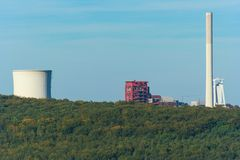 Förderturm & Kraftwerk