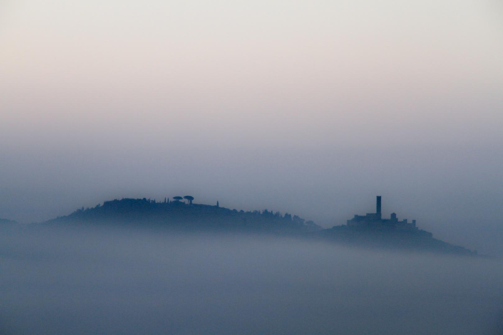 Fog in Castiglion Fiorentino