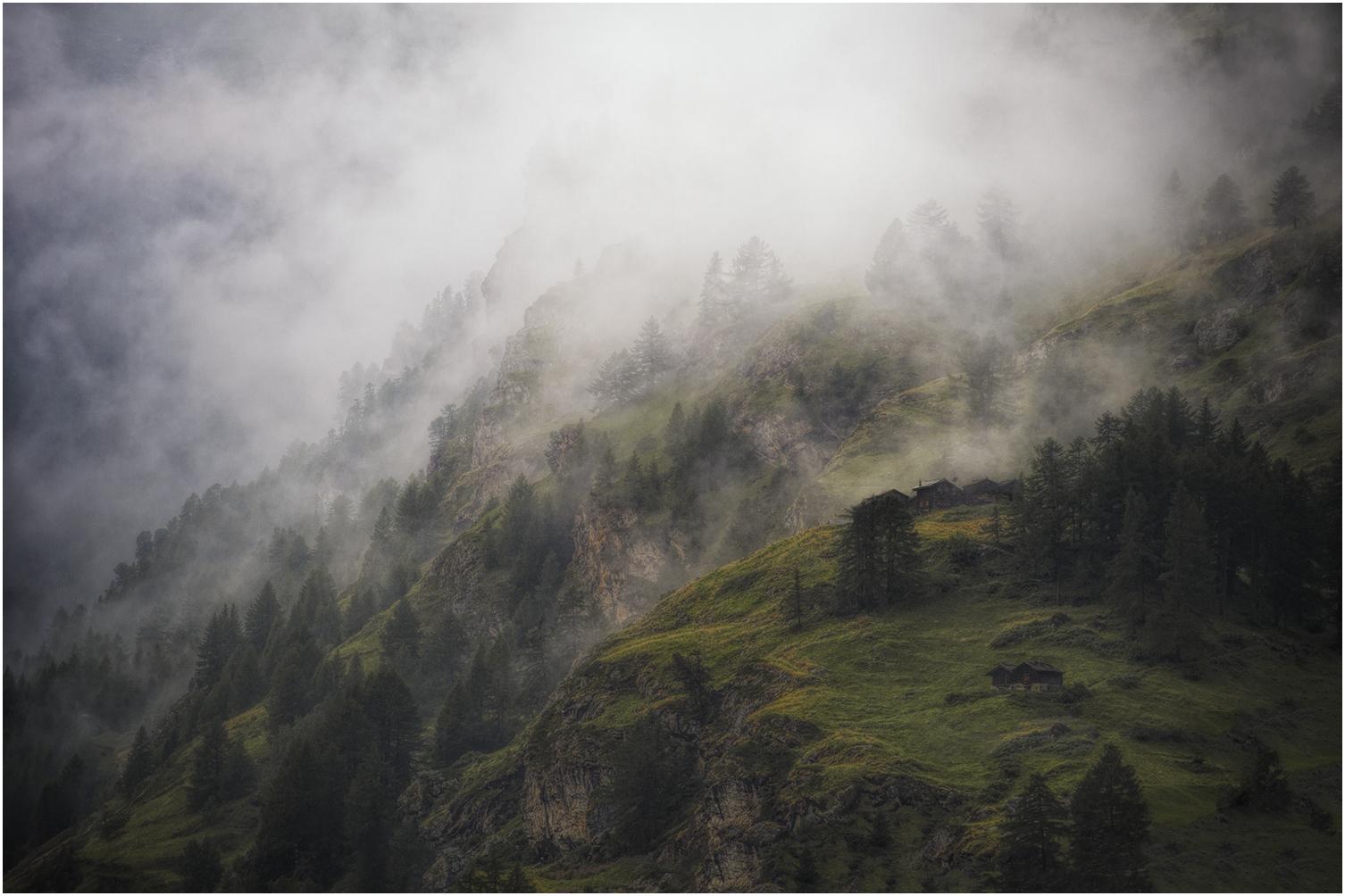 Foggy Alps