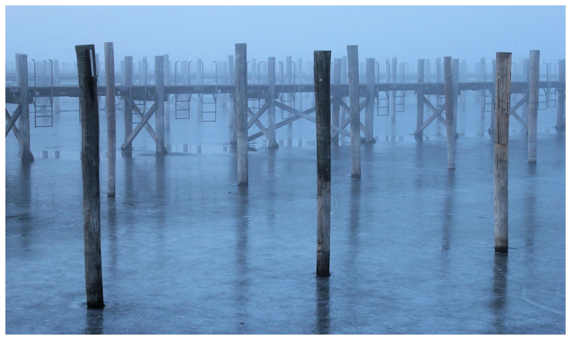 foggy cold