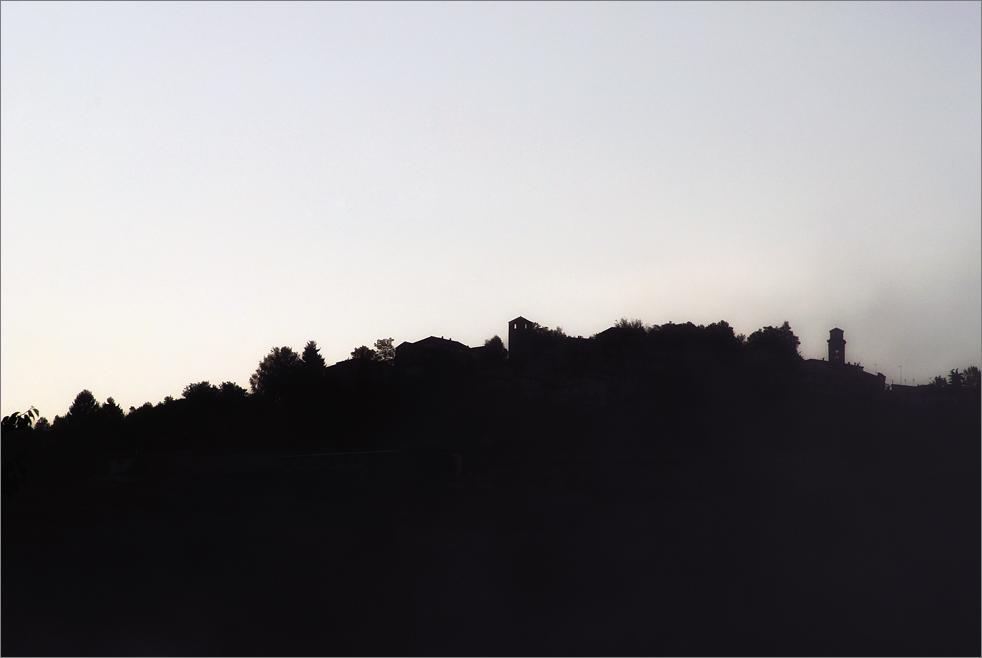 Foggy morning in Piemonte