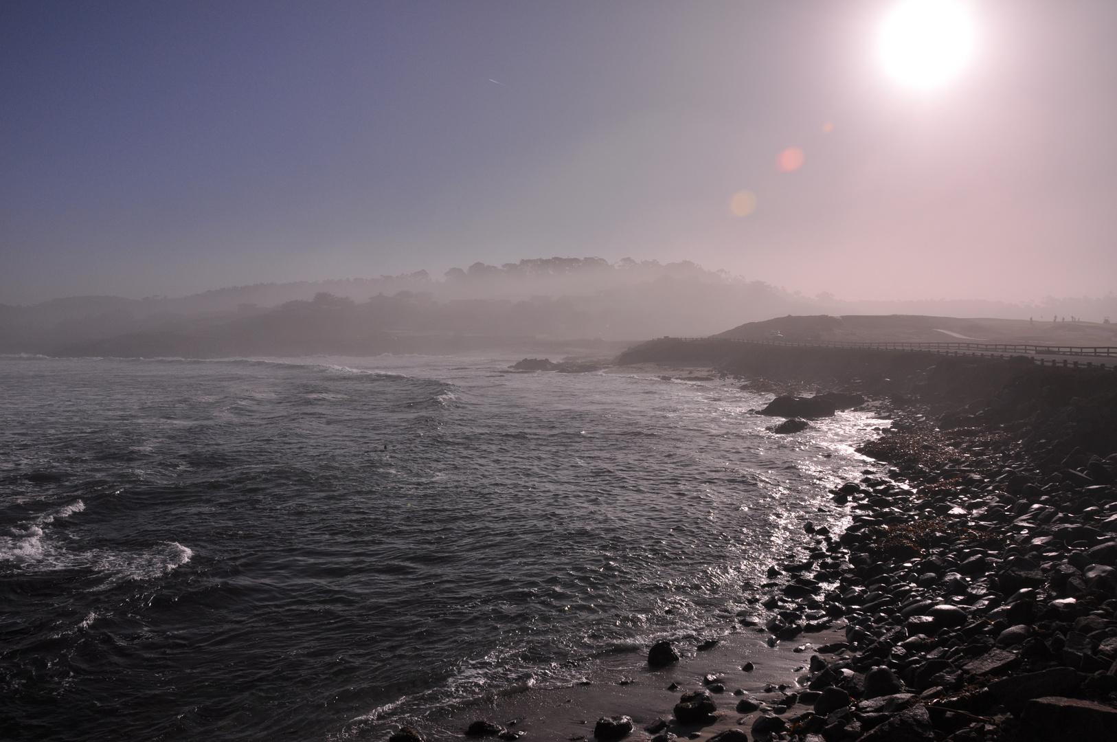 Foggy Rough Coast