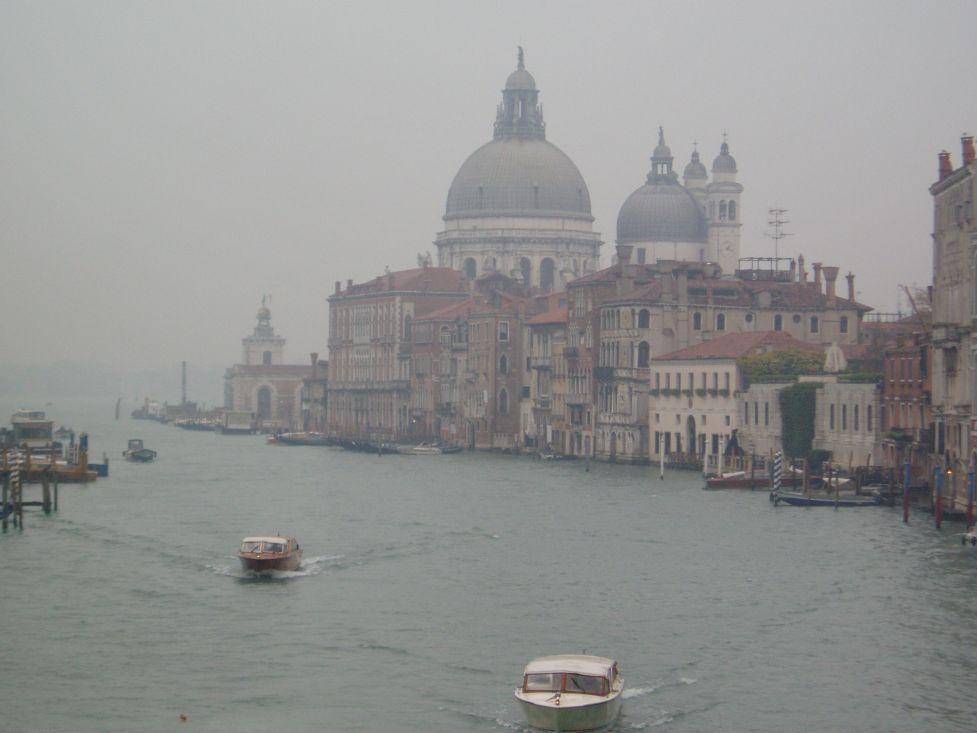 Foggy Venice