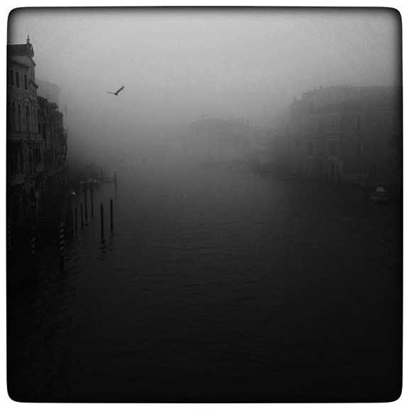 Foggy View from the Accademia