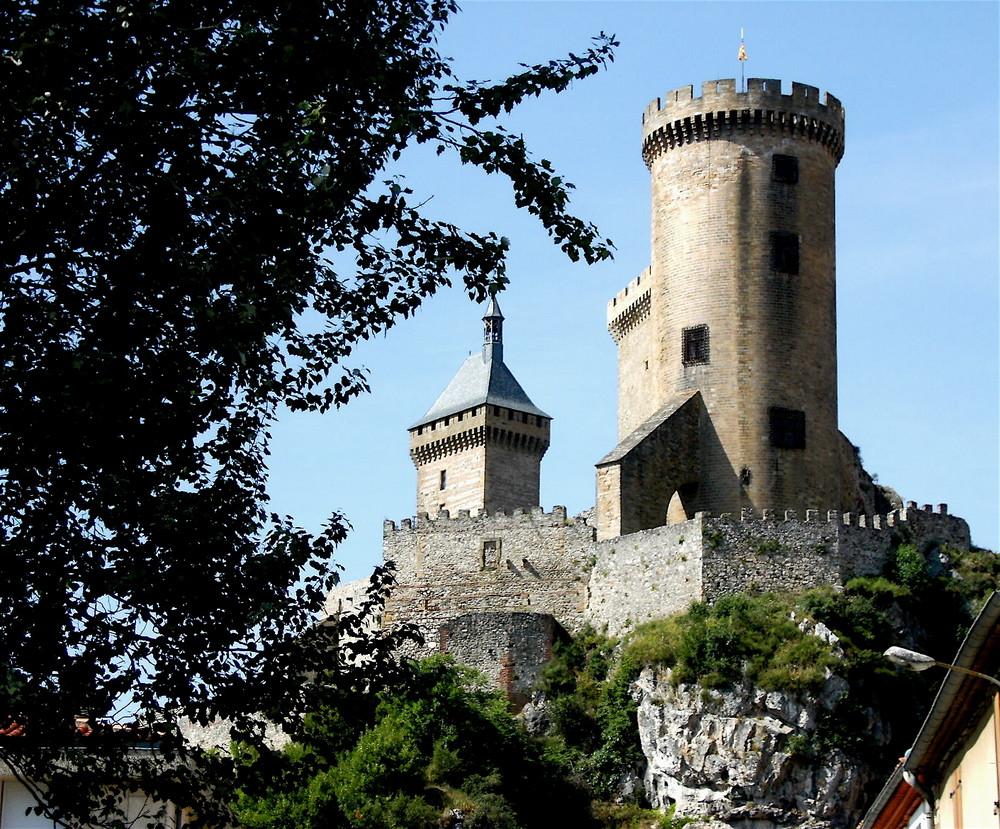 Foix , le chateau