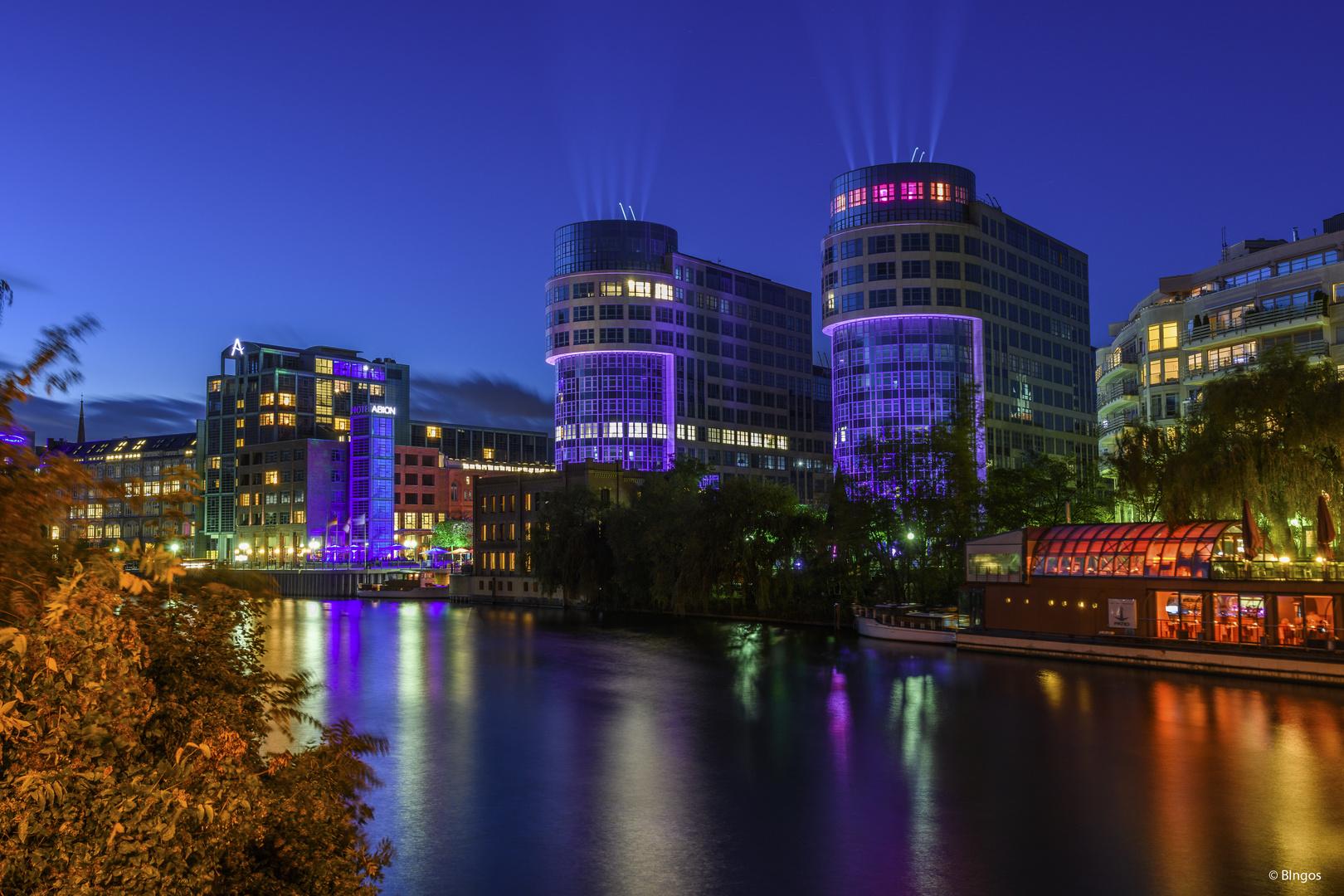 FoL: Spreebogen at blue hour