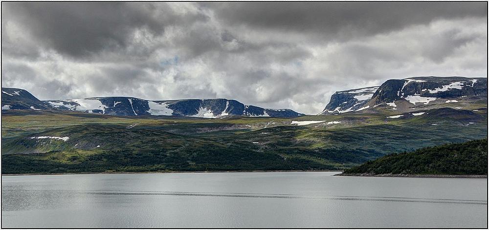 Folarskardnuten und Kyrkjedorsnuten im Hallingskarvet-Massiv : Norwegenreise 2013 ( HDR )