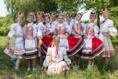 Folklorelawine 2015: Weissrussisches Kindertanzensemble