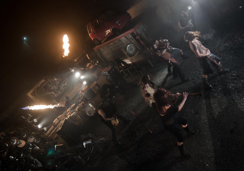 """Folkstone - sul set del videoclip della canzone """"nebbie"""""""