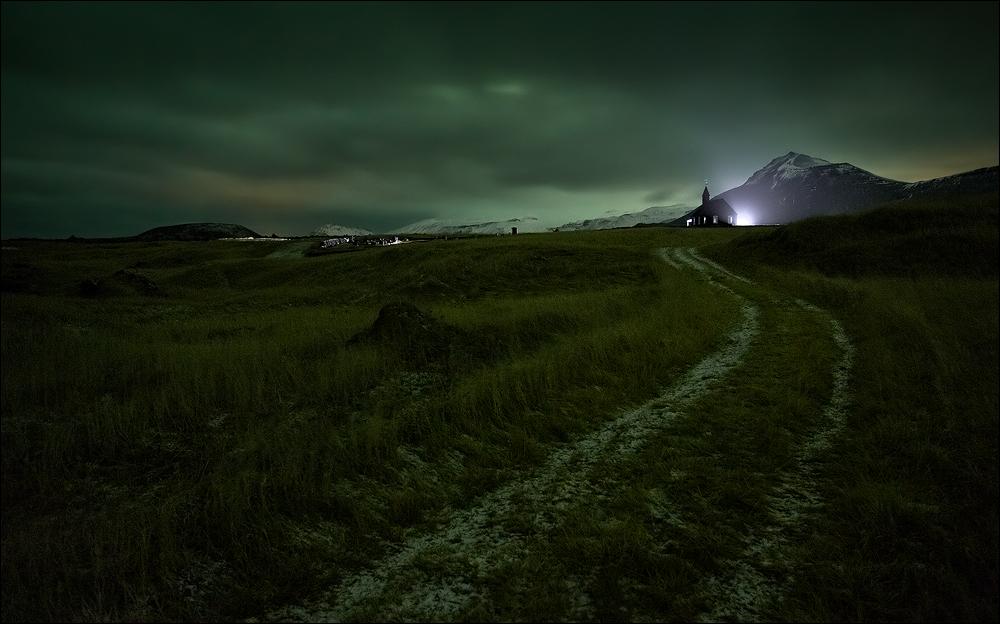 [ ... follow the lights ]