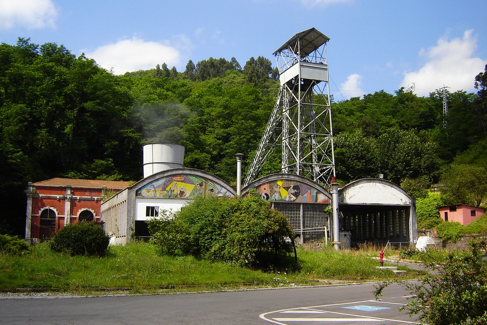 Fondon colliery; Asturias - Northern Spain.