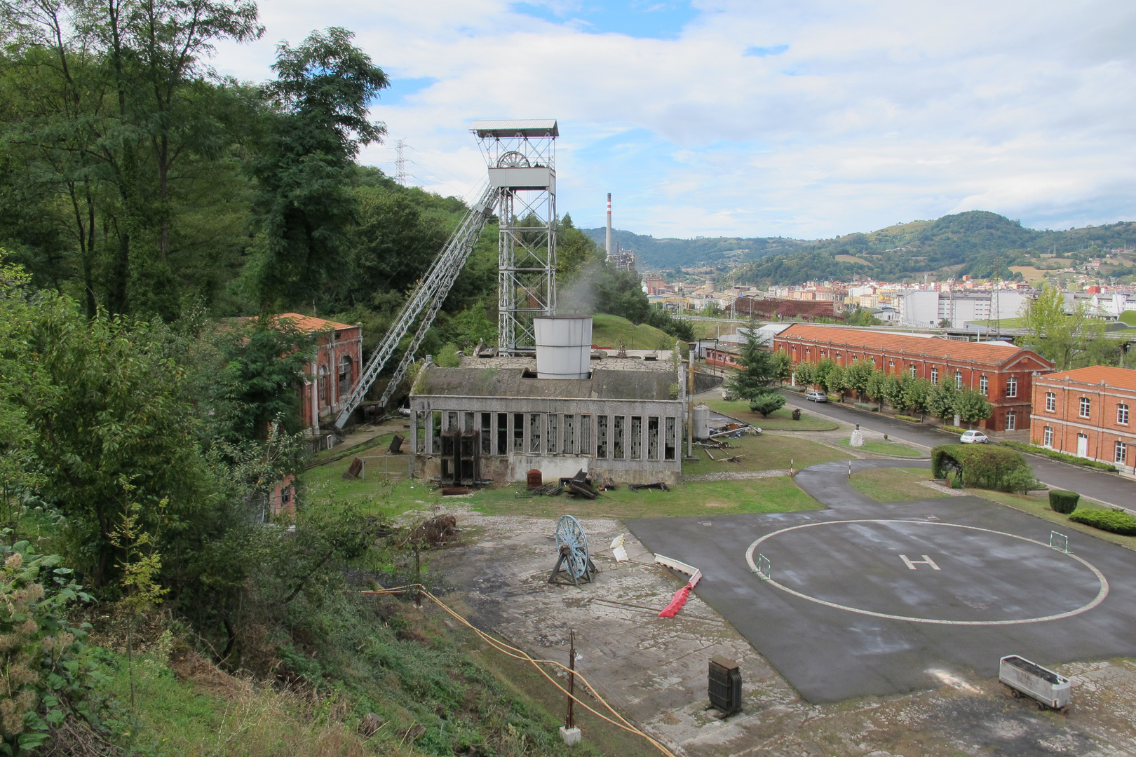 Fondon colliery, Langreo; Northern Spain.
