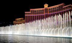 Fontänen vor dem Bellagio Hotel
