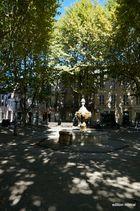 fontaine à Carpentras Brunnen in Carpentras