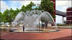 Fontaine au jardin
