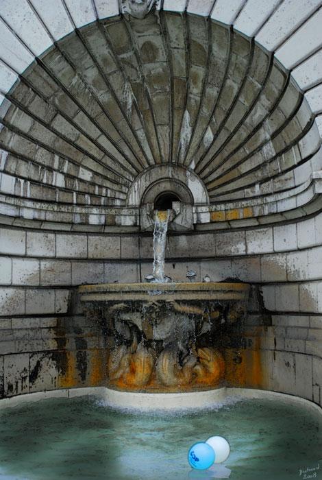 Fontaine au Sacré-Coeur (Paris)