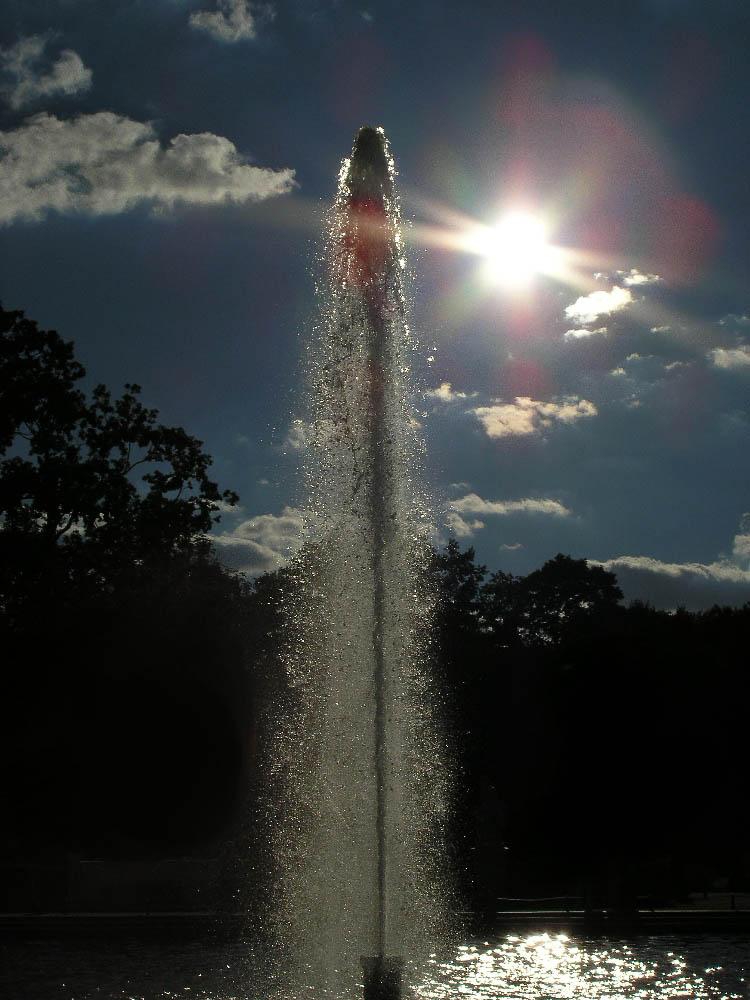 fontaine bis zur sonne