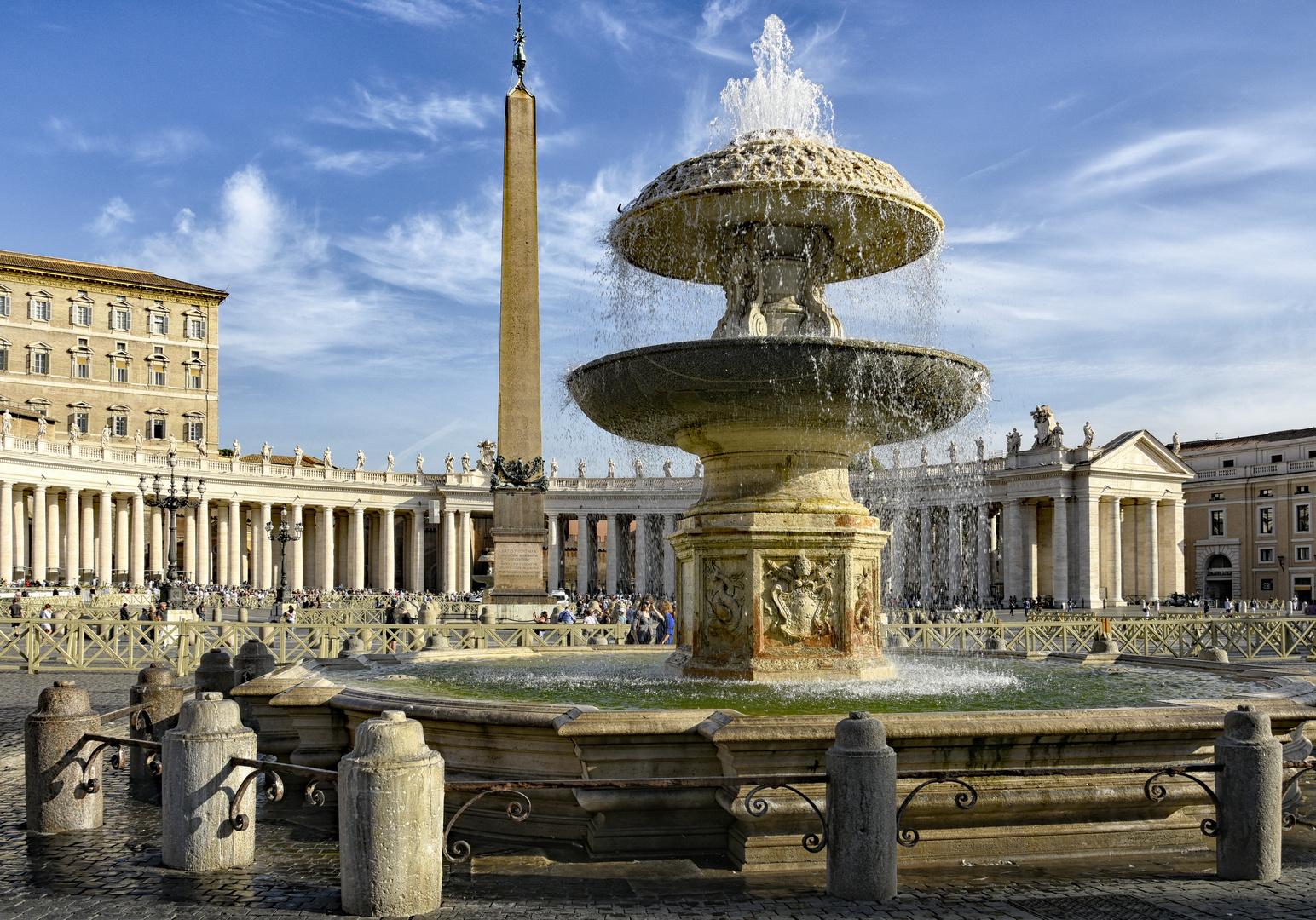 Fontaine di Piazza San Pietro von Gian Lorenzo