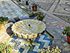 fontaine du palais Viana à Cordoue