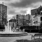 Fontaine im Stadtpark in Luxemburg-Stadt