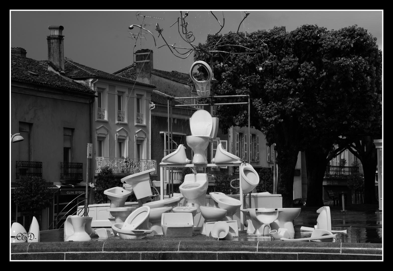 fontaine urbaine..