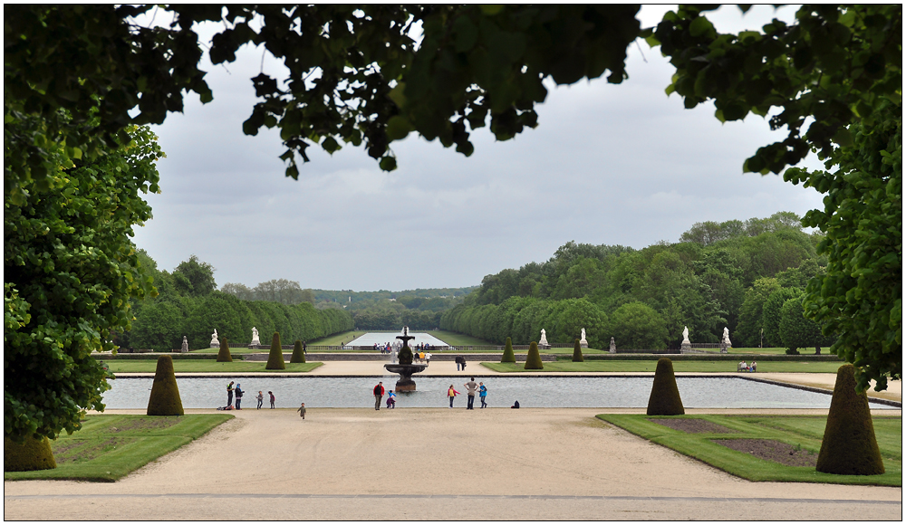Fontainebleau – der Park VII