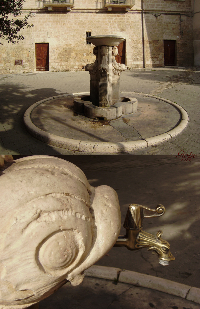 Fontana a quattro cannelle