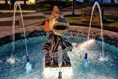 Fontana con pesce