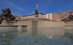 Fontana delle Naiadi in piazza della Repubblica