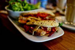 Foodshot - Panini Tomate-Mozzarella