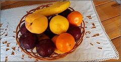 For me fruit not flowers