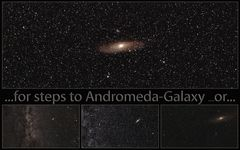 ..for steps to Andromeda-Galaxy...or...