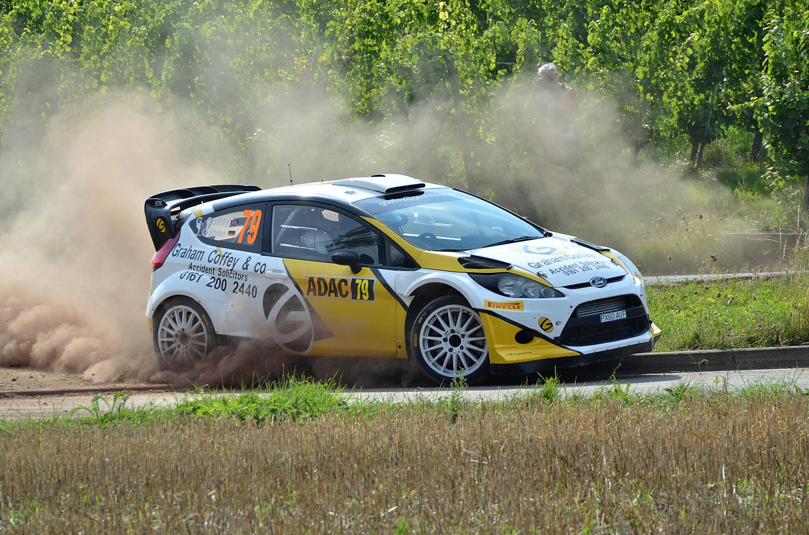 Ford Fiesta RS WRC / Coffey / Gäbler