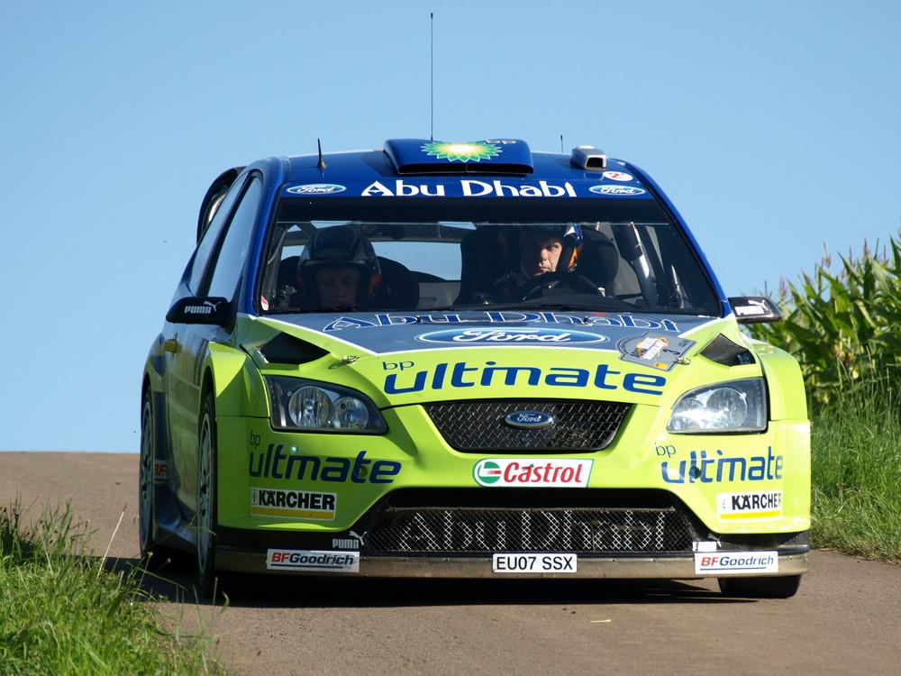 Ford Focus WRC - Grönholm