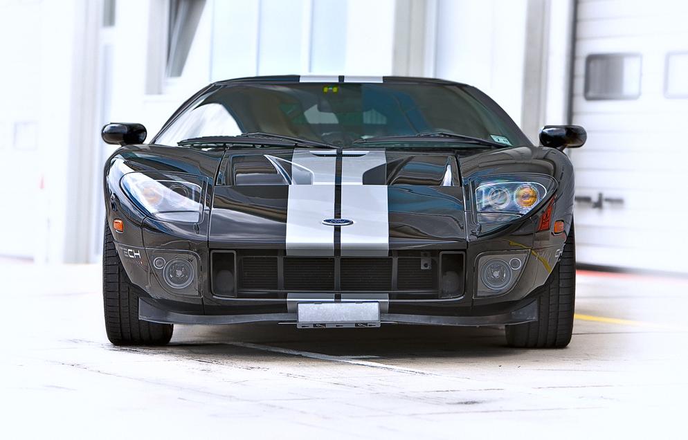 --- Ford GT Black ---