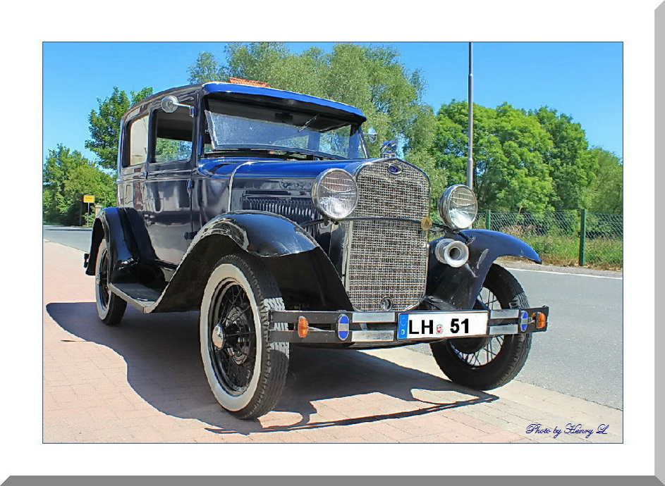 "Ford ""Modell A"" Baujahr 1930"