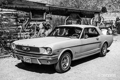 Ford Mustang auf der ehemaligen Route 66