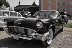 Ford Thunderbird 1957 bei Classic Cars 2018 Schwetzingen