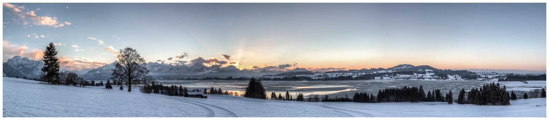 Forggensee-Panorama