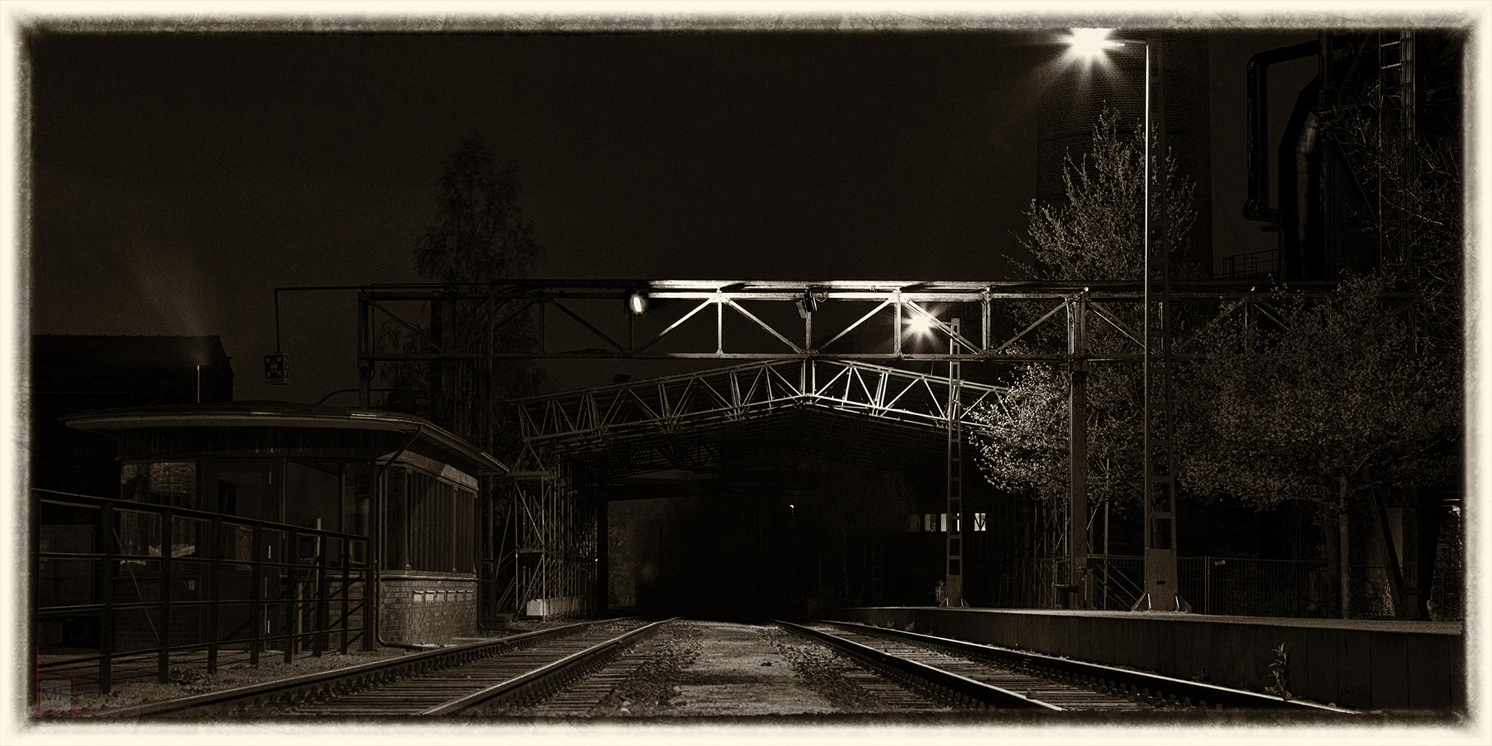 forgotten worlds | The fast train in the dark...