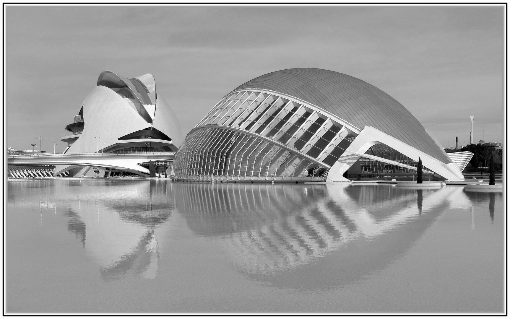 formas en el agua
