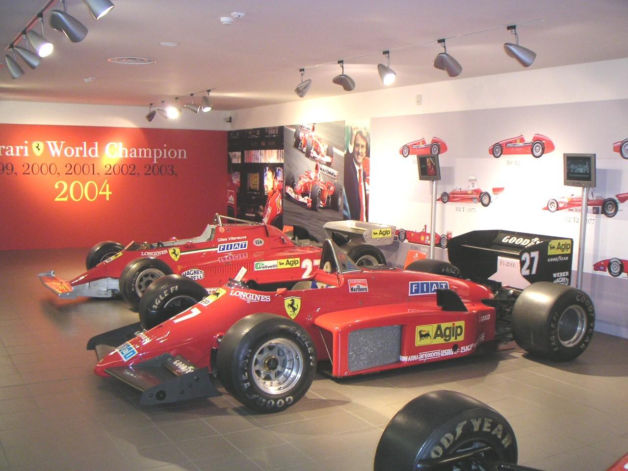 Formel 1 - Ferrari Museum in Maranello