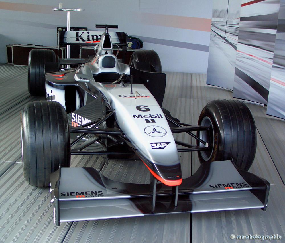 Formel 1 Mercedes Rennwagen von Kimi !